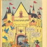 Fantasyland mit Minnie Mouse und vielen anderen