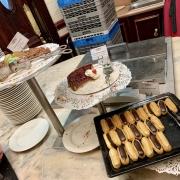 Eclair und Torte