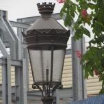 Eine Lampe im Stil des neuen Ratatouille-Bereiches