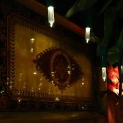 Wandschmuck im Chez Remy