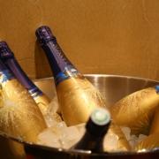 Champagner von Lanson - spezielle Kreation für das Chez Remy