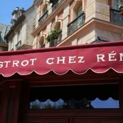 Vor dem Bistrot Chez Remy