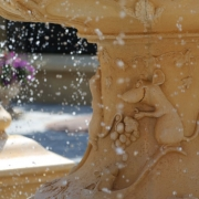 Detail des Brunnen