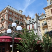 Großartige Fassaden am Place de Remy