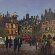 Concept Art des Place de Remy