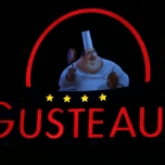 Das Guestaus Schild in der Queue zeigt eine Animation