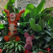 Blumenfigur im Crystal Palace - Teil 1