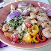 Gnocchi Primavera mit Shrimps