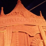 Carroussel de Lancelot - aus Sand gebaut