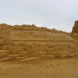 Disneyland Paris Sandskulptur