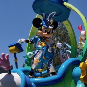 Mickey Mouse in der Easter Parade
