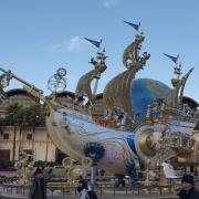 Beim  ,,Year of Wishes'' gab es viele spezielle Dekorationen