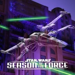 Tier Fighter vor dem Tower of Terror - Seasons of the Force