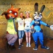Judy Hopps und Nick Wilde kann man auch in Shanghai treffen