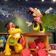 Minnie und Pluto
