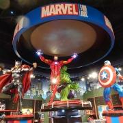 Marvel im Disney Store Shanghai