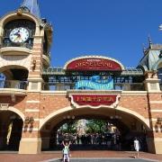 Shanghai Disneyland Eingangsportal