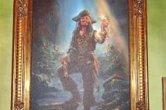 Captain Jack Sparrow in Barbossa's Bounty