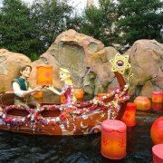 Rapunzel / Tangled bei der Voyage to the Crystal Grotto