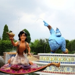 Aladdin bei Voyage to the Crystal Grotto
