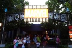 Eingang zum Marvel Universe in Shanghai Disneyland