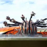 Jetpacks im Tomorrowland in Shanghai Disneyland
