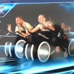 On-Ride Photo aus Tron