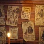 Fahndungsplakate mit Kopfgeld für Jack Sparrow