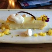 Dessert im Restaurant Skipper Canteen
