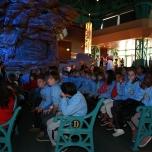 Kinder bei der Podiumsdiskussion im DLP