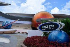 Eingang Space 220 Restaurant