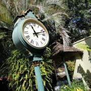 Uhr in der Altstadt von St. Augustine