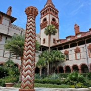 Innenhof des Flagler Colleges