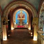 Griechisch-Orthodoxes Heiligtum mit Reliquienschrein