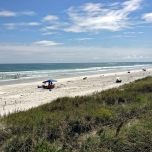 Strand in St. Augustine in Florida