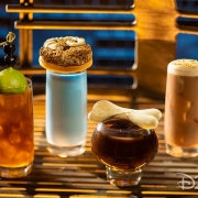 Moogan Tea, Blue Bantha, Bloody Rancor, Black Spire Brew (Oga´s Cantina)