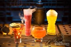The Outer Rim, Bespin Fizz, Yub Nib & Fuzzy Tauntaun  (Orga´s Cantina) - mit Alkohol