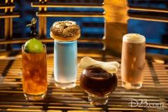 Moogan Tea, Blue Bantha, Bloody Rancor, Black Spire Brew (Oga´s Cantina)