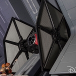 Tie Fighter bei Star Wars: Rise of the Resistance