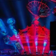 Das Ende eines tollen Abends, des Soiree Star Wars im Disneyland Paris