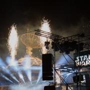 Eine Show mit spektakulären Effekten
