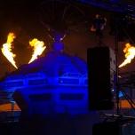 Feuereffekt bei der Star Wars Night