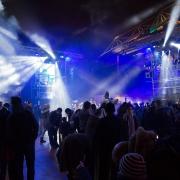 Lichteffekte und viel Show