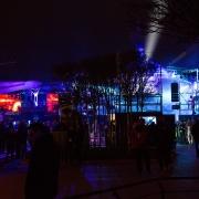 Stimmungsvolles Ambiente zwischen Star Traders und Star Tours