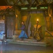 Auftakt der Padawan Challange mit zwei Jedi-Meistern