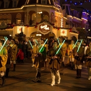 Jedis bei der Parade