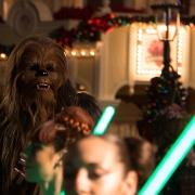 Natürlich war auch Chewbacca dabei