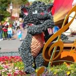 Aristocats Blumenfigur