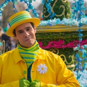 Ein Tänzer der Goofy's Garden Party