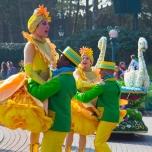 Hebefigur der Tänzer bei Goofy's Garden Party